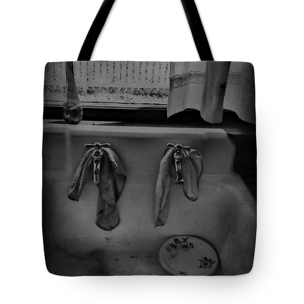 Sinking Tears Tote Bag by Jerry Cordeiro