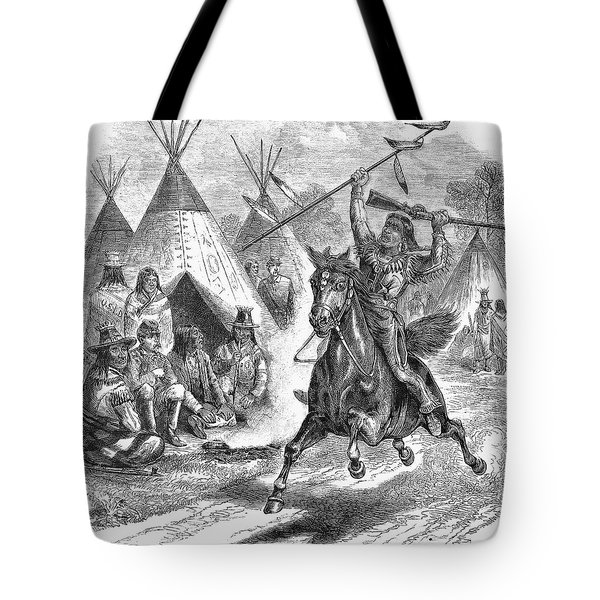 Sioux War, 1876 Tote Bag by Granger