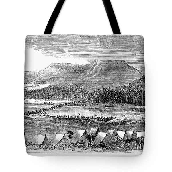Sioux War: Tongue River Tote Bag by Granger