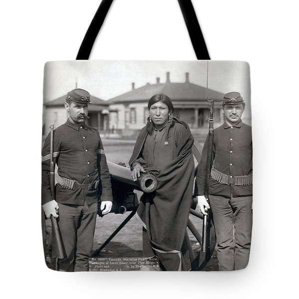 Sioux Warrior, 1891 Tote Bag by Granger
