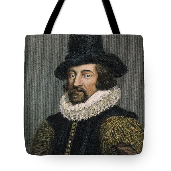 Sir Francis Bacon (1561-1626) Tote Bag by Granger