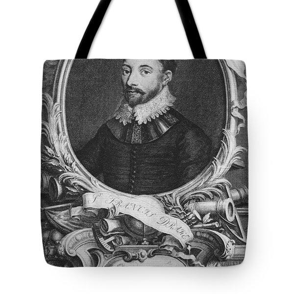 Sir Francis Drake, English Explorer Tote Bag by Photo Researchers, Inc.