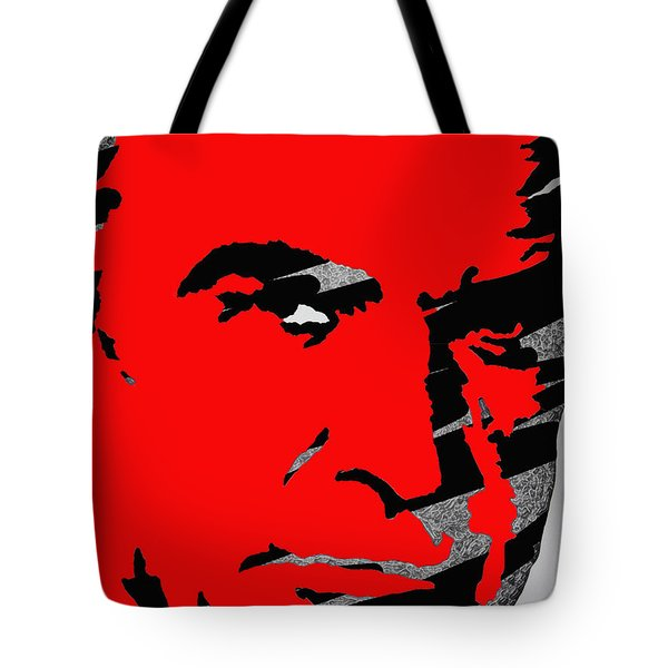 Sir Sean Connery Tote Bag by Robert Margetts