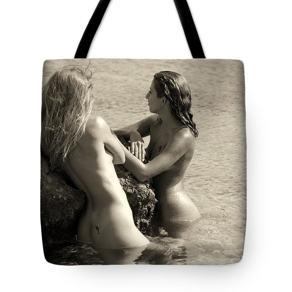Sirens Of The Sea Tote Bag