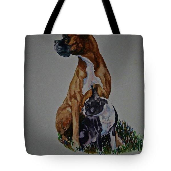 Sister Story Tote Bag by Susan Herber