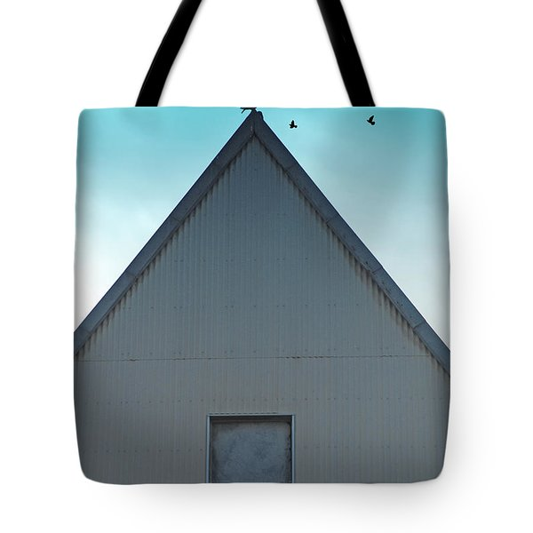 Tote Bag featuring the photograph Sitting On The Peak by Kathleen Grace