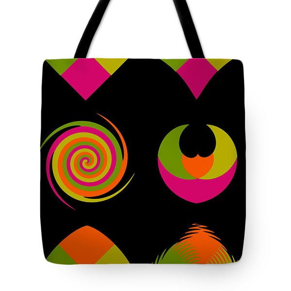 Tote Bag featuring the photograph Six Squared Collage by Steve Purnell