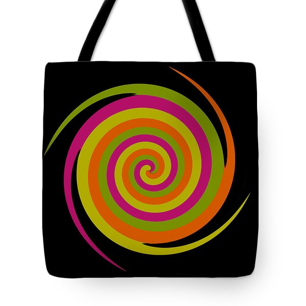 Tote Bag featuring the photograph Six Squared With A Twirl by Steve Purnell