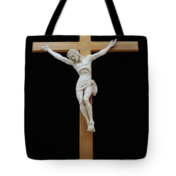Sjncc Crucifix 1 Two K Eleven Tote Bag by Carl Deaville