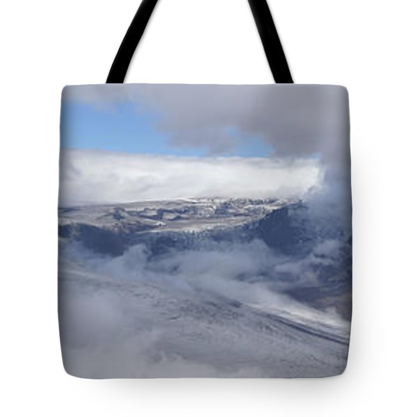 Tote Bag featuring the photograph Skaftafell Panorama by Rudi Prott