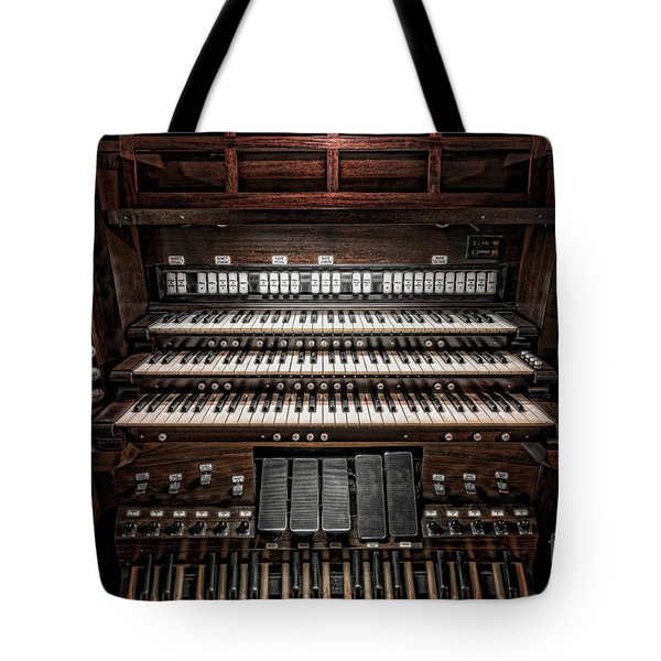 Skinner Pipe Organ Tote Bag
