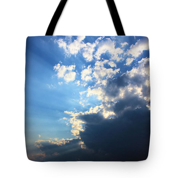 Sky Drama Tote Bag by Kristin Elmquist