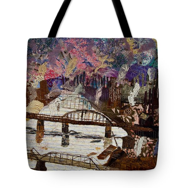 Sky Over The Allegheny Tote Bag