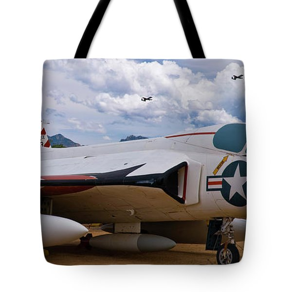 Skyray And Hawgs Tote Bag by Tim Mulina