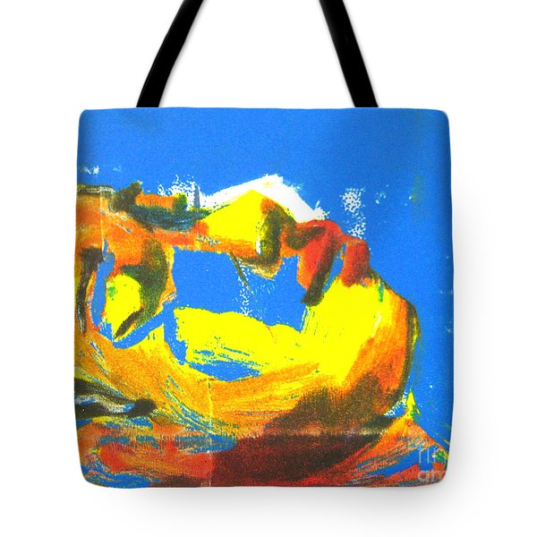 Tote Bag featuring the painting Sleep by Gabrielle Wilson-Sealy