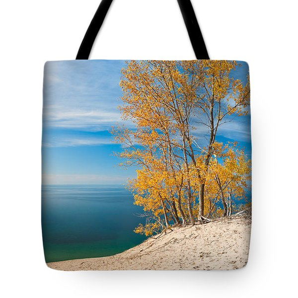 Sleeping Bear Dunes Vista 001 Tote Bag