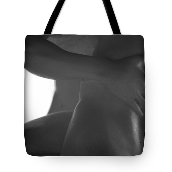 Small Of Her Back Tote Bag by Nathan Larson