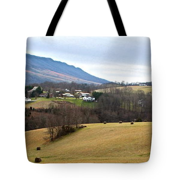 Tote Bag featuring the photograph Small Town by Kume Bryant