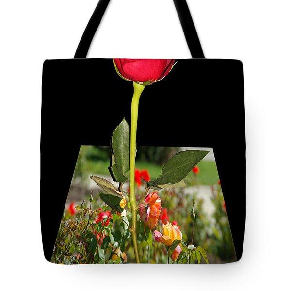 Smell Me Tote Bag by Mariola Bitner