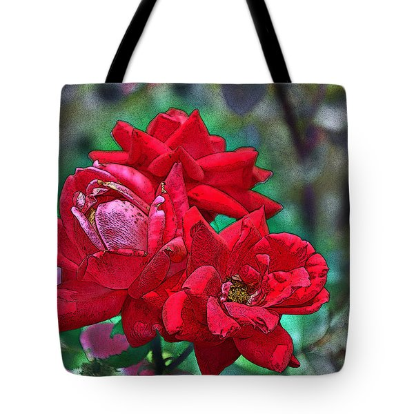 Smell The Roses Tote Bag by Paul Mashburn