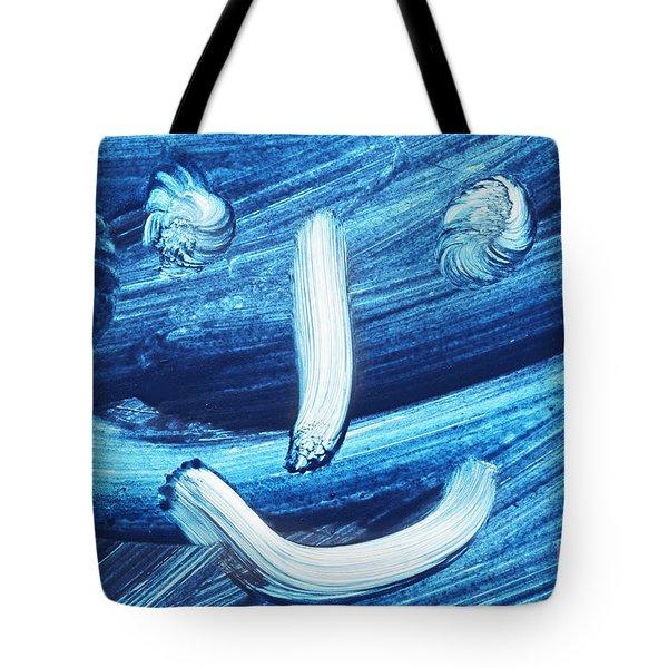 Smile Tote Bag by Michal Boubin