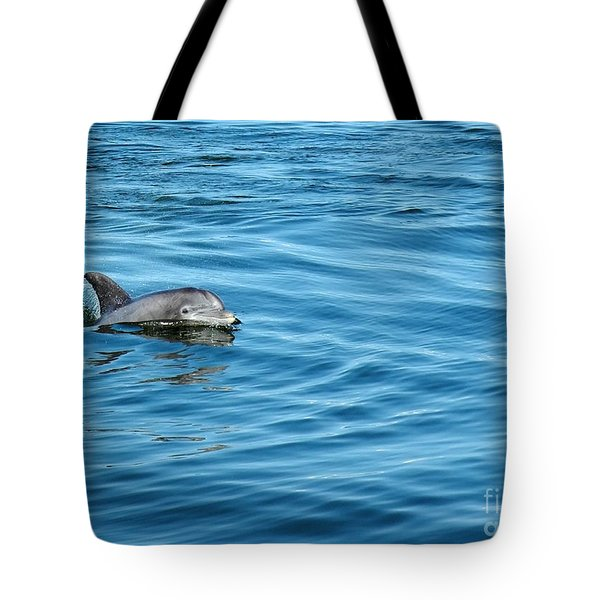 Smile Tote Bag by Sami Martin