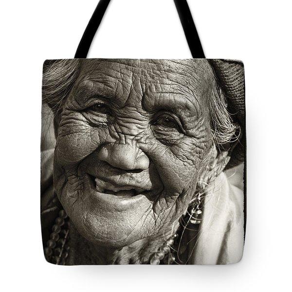 Smile Tote Bag by Skip Nall
