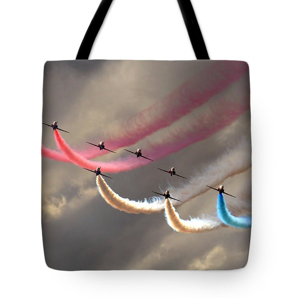 Smoke Swirls Tote Bag