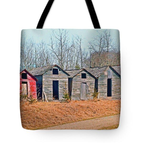 Smokehouse Row Tote Bag