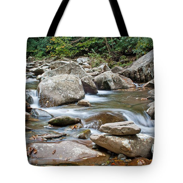 Smoky Mountain Streams Tote Bag