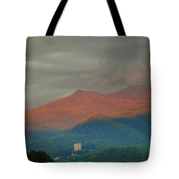 Smoky Mountain Way Tote Bag by Frozen in Time Fine Art Photography
