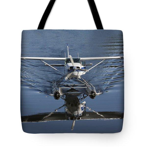Smoooth Landing Tote Bag by David Kehrli
