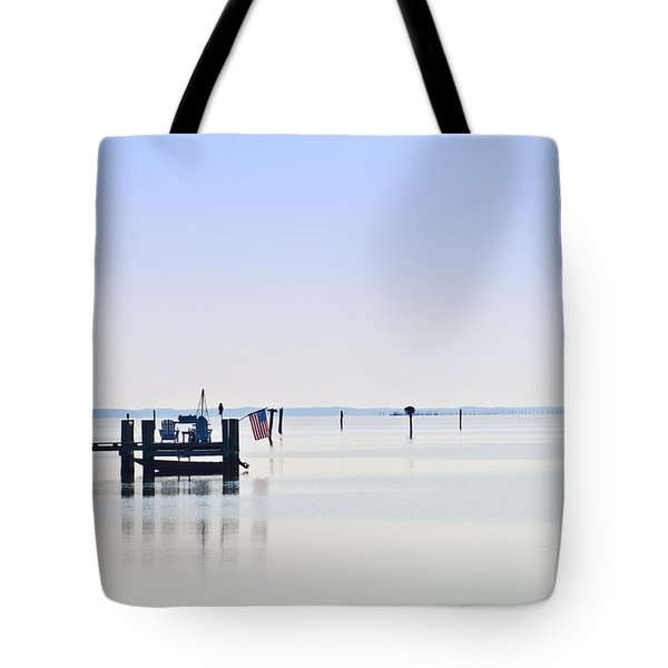 Smooth As Glass Tote Bag by Bill Cannon