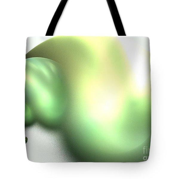 Snail Tote Bag by Kim Sy Ok