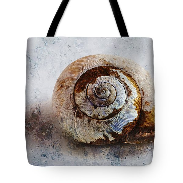 Snail Shell Tote Bag by Ron Jones