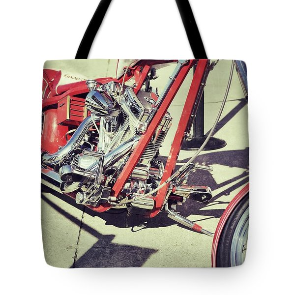 Snap On Tote Bag