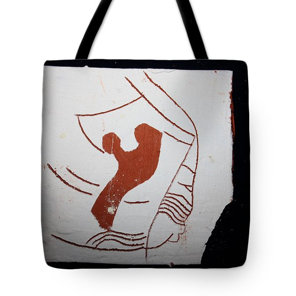 Snip - Tile Tote Bag by Gloria Ssali