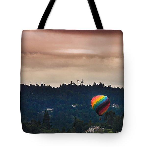 Snohomish Baloon Ride Tote Bag