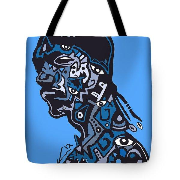 Snoop Dogg Tote Bag by Kamoni Khem