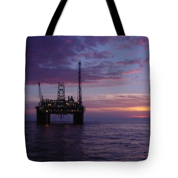 Snorre Sunset Tote Bag