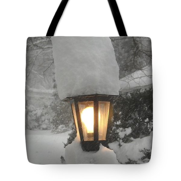 Snow Capped Tote Bag