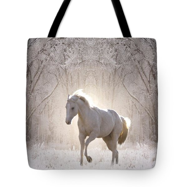 Snow White Tote Bag by Bill Stephens