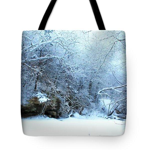 Snowy Morn Tote Bag