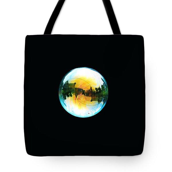 Soap Bubble Tote Bag by Sumit Mehndiratta