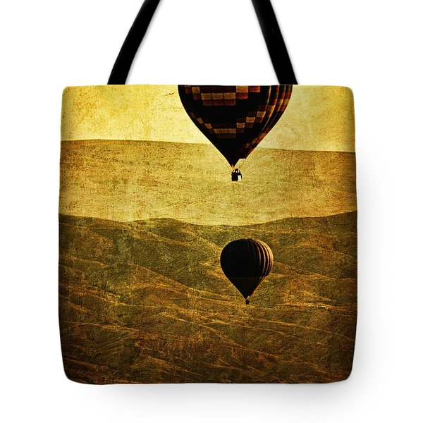 Soaring Heights Tote Bag by Andrew Paranavitana