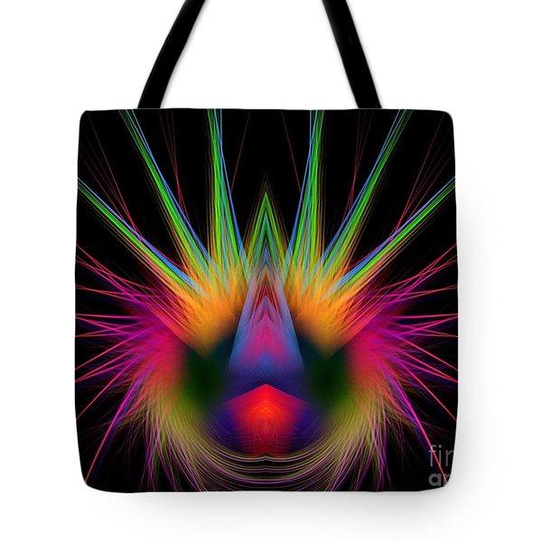 Soft And Stiff Tote Bag by Klara Acel
