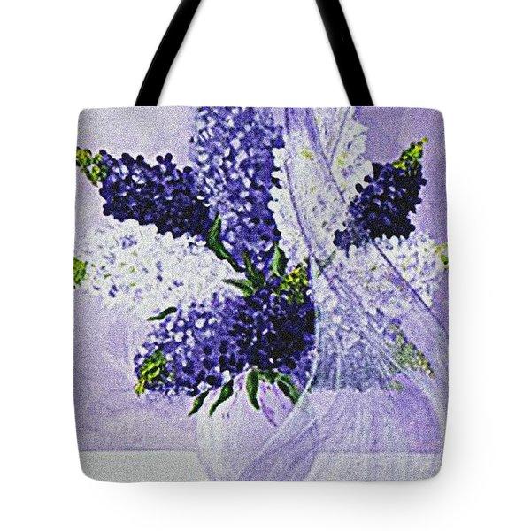 Soft Breeze Tote Bag by Kume Bryant