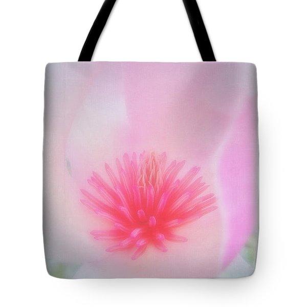 Soft Magnolia Tote Bag by Judi Bagwell