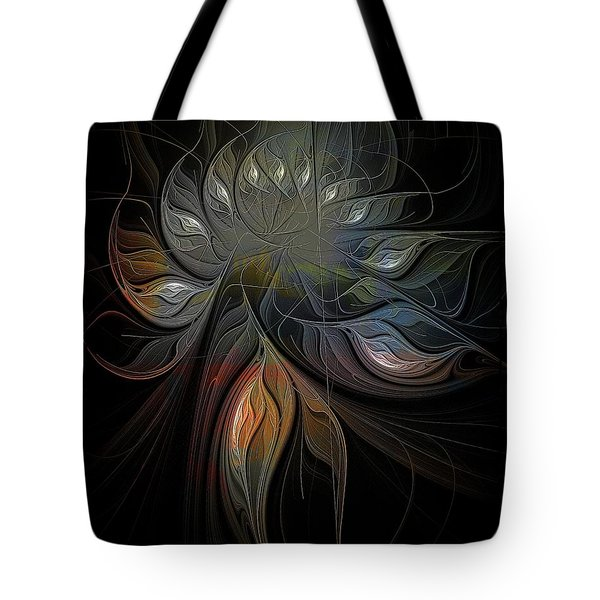 Soft Metals Tote Bag by Amanda Moore