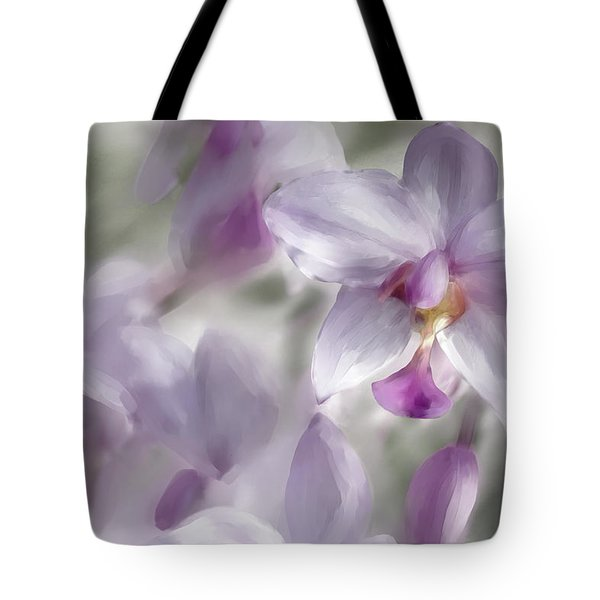 Soft Pink Tote Bag by Diane Dugas